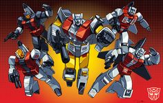 Aerialbots teamshot boxart grid by Dan-the-artguy.deviantart.com on @deviantART
