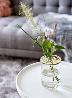Váza JANNIK átm10xma15cm fedéllel vegyes