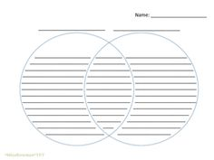 uniquely designed venn diagrams in landscape and portrait  with    venn diagram   lines