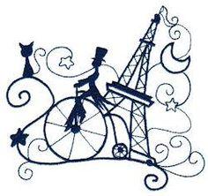 OregonPatchWorks.com - Singles - Enchanted Paris Singles