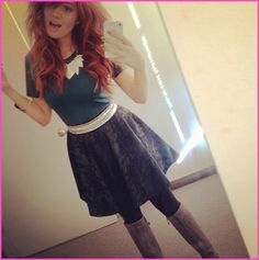 "Debby Ryan Loves Her Style On The Disney Channel Show ""Jessie"""