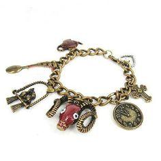 Fashion Ox-head Vintage Francs Link Bracelets for Ladies