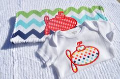 Custom Multi Colored Chevron Burp Cloth and by SweetKeikiBoutiki, $25.00