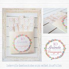 Geschenk Brautjungfer Trauzeugin Hochzeit von Frau Zauberstift auf DaWanda.com