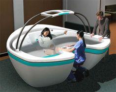 waterbirth vessel