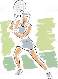 tennis-girl-sketch-vector-id500756187 (753×1024)