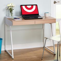 Eleanor Desk - Natural/White