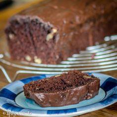 Banánový kakaový chlebíček - Spicy Crumbs Sponge Cake, Sweet Bread, Bread Recipes, Spicy, Recipies, Food And Drink, Chocolate Cakes, Recipes, Rezepte