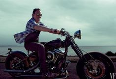 I believe in good manners Bruce Springsteen, photo by Annie Leibovitz.