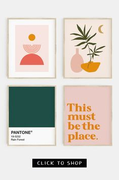 Looking for gallery wall ideas? Check out our range of gallery wall sets at Printable Zen Co today! #printablewallart #gallerywallprints Layout Design, Logo Design, Pastel Colour Palette, Color Palettes, Pink Wall Art, Mid Century Modern Art, Scandinavian Art, Modern Art Prints, Grafik Design