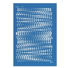 Silk Screen Moiko pour Pâte polymère 74x105 mm - Motif Dégradé de Points 9.11