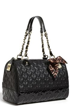 Betsey Johnson 'Will You Be Mine' Satchel, Large available at #Nordstrom
