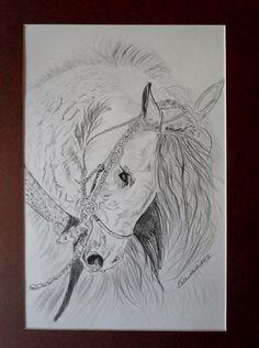Biały A3 ołówek/pencil