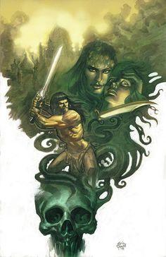 Dark Horse Cover of the Day: Conan The Avenger #14