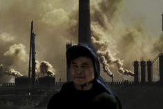 2015, Long-Term Projects, 3rd prize stories, Lu Guang DEVELOPMENT AND POLLUTION 09 April 2005 Most factories in Hainan Industrial Park of Wuhai City in Inner Mongolia are high-energy consuming and high-pollution producing. China is now the world's second-largest economy. Its economic development has consumed lots of energy and generated plenty of pollution.