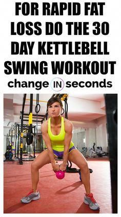 For Rapid Fat Loss Do The 30 Day Kettlebell Swing Workout! Print our FREE PDF and do the workout anywhere! For Rapid Fat Loss Do The 30 Day Kettlebell Swing Workout! Print our FREE PDF and do the workout anywhere! Losing Weight Tips, Weight Loss Tips, How To Lose Weight Fast, Weight Gain, Rapid Weight Loss, Best Weight Loss Plan, Fitness Before After, Fitness Home, Free Fitness