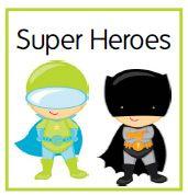 Super Heroes Kindergarten Kit
