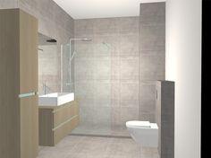 Deze badkamer in een appartement in hartje Brussel werd grondig gerenoveerd met heel knappe duurzame materialen. Bekijk de details van dit project.
