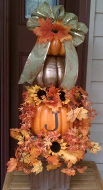 SoVeryShari.blogspot.com  FALL TOPIARY