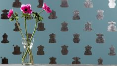 Zilmers handmade silverleaf gilded luxury wallpaper - newest design.
