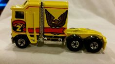 Vintage Hot Wheel semi truck Thunder roller diecast collectible 1:64 scale in Toys & Hobbies, Diecast & Toy Vehicles, Cars, Trucks & Vans | eBay