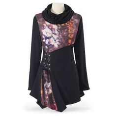 Abstract Glow Tunic - Women's Clothing & Symbolic Jewelry – Sexy, Fantasy, Romantic Fashions
