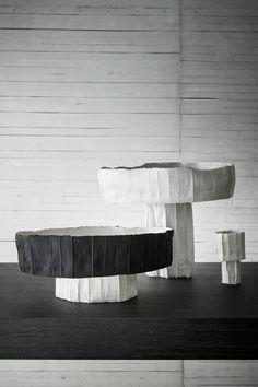 Ceramic bowl NINFEE By Paola Paronetto design Paola Paronetto Ceramic Clay, Porcelain Ceramics, Ceramic Bowls, Ceramic Pottery, Sculpture Art, Sculptures, Nature Paper, Paper Clay, Pottery Workshop