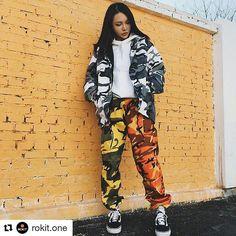 Colored Camo BDU Pants