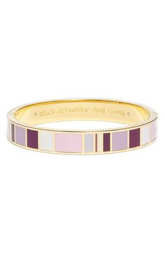 kate spade new york 'idiom - read between the lines' bangle available at…