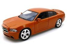 Motor Max 1/24 Scale 2011 Dodge Charger R/T Copper Orange Diecast Car Model 73354 - www.DiecastAutoWorld.com 2312 W. Magnolia Blvd., Burbank, CA 91506 818-355-5744 AUTOart Bburago Movie Cars First Gear GMP ACME Greenlight Collectibles Highway 61 Die-Cast Jada Toys Kyosho M2 Machines Maisto Mattel Hot Wheels Minichamps Motor City Classics Motor Max Motorcycles New Ray Norev Norscot Planes Helicopters Police and Fire Semi Trucks Shelby Collectibles Sun Star Welly