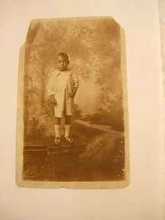 Vintage Antique Black Young Child RPPC Real by NeatstuffAntiques, $95.00
