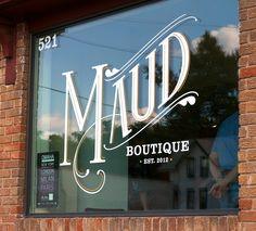 Maud Boutique | Grain & Mortar | Strategy + Branding + Design + Environmental
