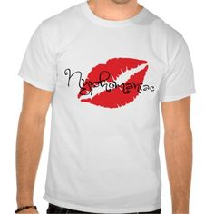 Nymphomaniac T-Shirt with Lips