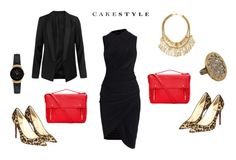 """""""Leopard-Print Heels from Office to Evening"""" by cakestyle on Polyvore"""