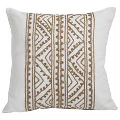 Lacefield Jaipur Bisque Throw Pillow @LaylaGrayce