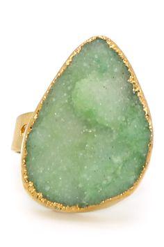 green finger ring