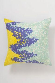 Sky Dip-Dot Pillow from anthropologie. i love it!