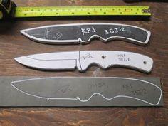 Knife Template | Knife making | Pinterest