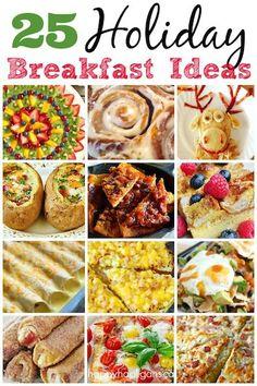 25 Delicious Christmas Breakfast Ideas - Happy Hooligans