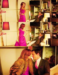 White Collar-  Neal Caffrey and Sara Ellis shopping at Valentino