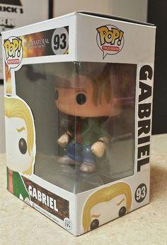 Supernatural Gabriel Custom Funko pop toy by MistyFigs on Etsy