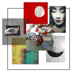 Kwan Yin Redux by stonesongspirit on Polyvore featuring art, jewelry, zen, artexpression, stonesongspirit and etsyart