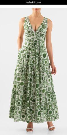 I this Contrast piped trim graphic circle print maxi dress from eShakti Custom Dresses, Modest Dresses, Simple Dresses, Pretty Dresses, Casual Dresses, Summer Dresses, Dresses For Work, Dress Outfits, Fashion Dresses