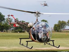 Bell 47G-2 #helicopter