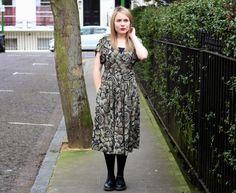 A Thrifted Midi Dress