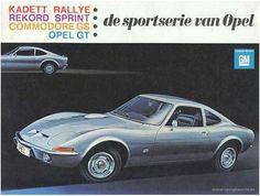 Opel gt 1900 ad german
