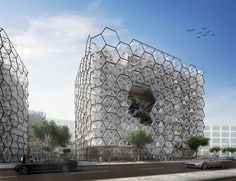WWF architects designs chameleon biomimetic mixed-use office building