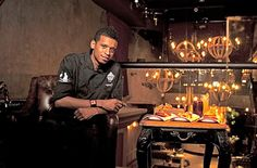 Never thought I'd like a cooking show..  Chef Roble