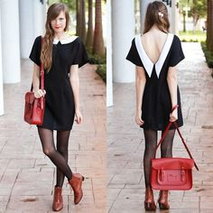 Looking back. ❤ (by Steffy Kuncman) http://lookbook.nu/look/4133388-looking-back