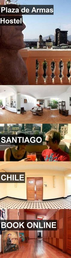 Hotel Plaza de Armas Hostel in Santiago, Chile. For more information, photos, reviews and best prices please follow the link. #Chile #Santiago #PlazadeArmasHostel #hotel #travel #vacation